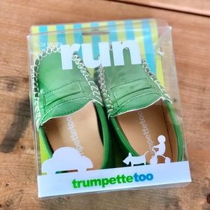 New! Trumpette Too Baby Moccassins/Shoes